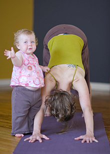 Mom and Tot Yoga